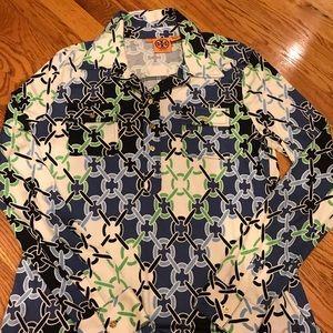 Tory Burch 100% silk blouse